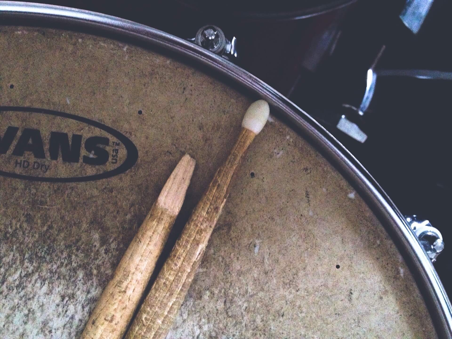 Even the best drum stick can break when they are well used - B-stick