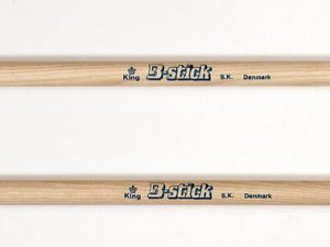Drumsticks King S.K. from B-stick has a blended acorn style
