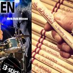 Lord uses B-stick drum sticks and is an endorser for us