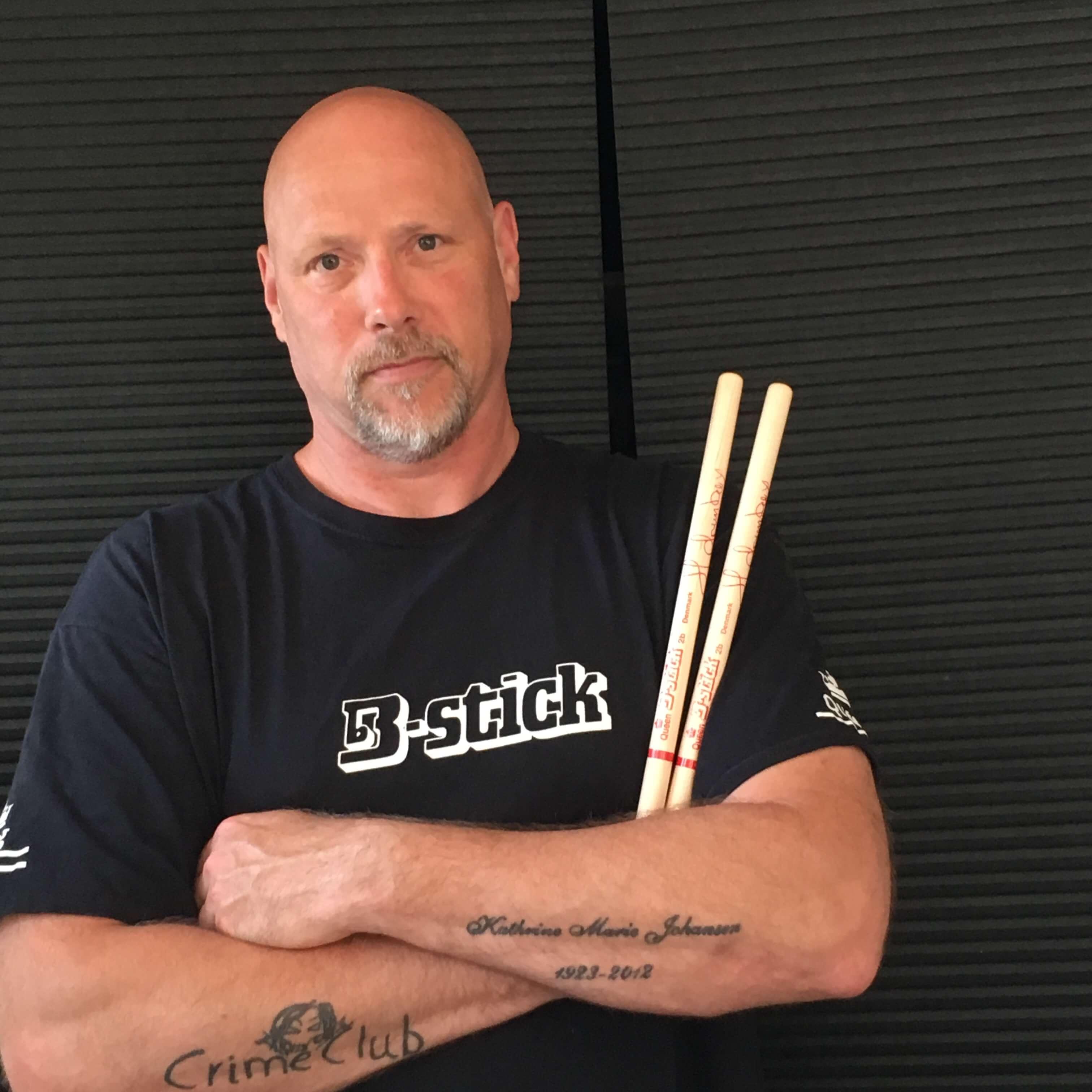 Jesper Haugaard, drummerboy B-stick