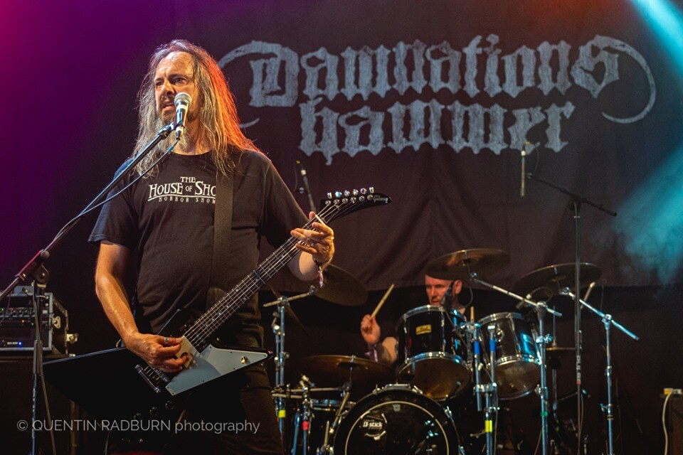 Damnation's Hammer rocking out